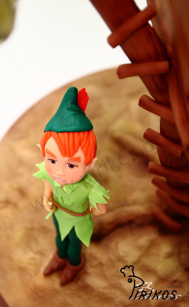 Peter Pan's Tree house Cake