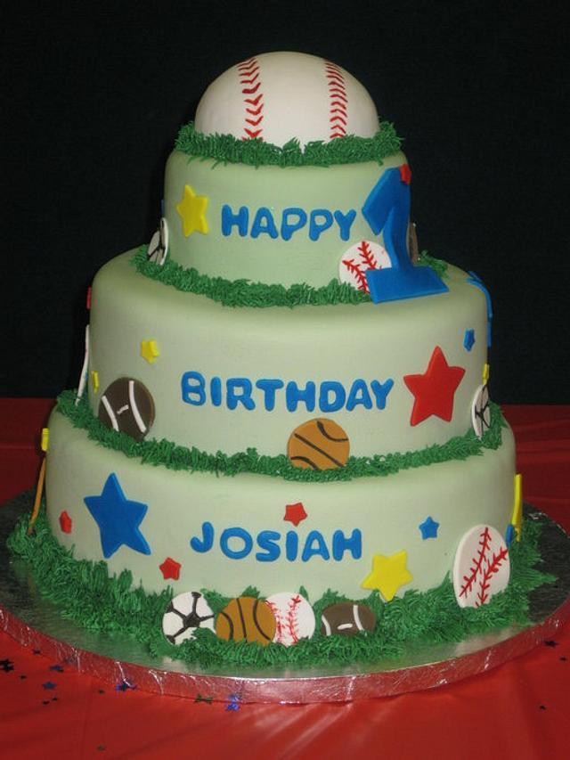 Allstar Birthday Cake