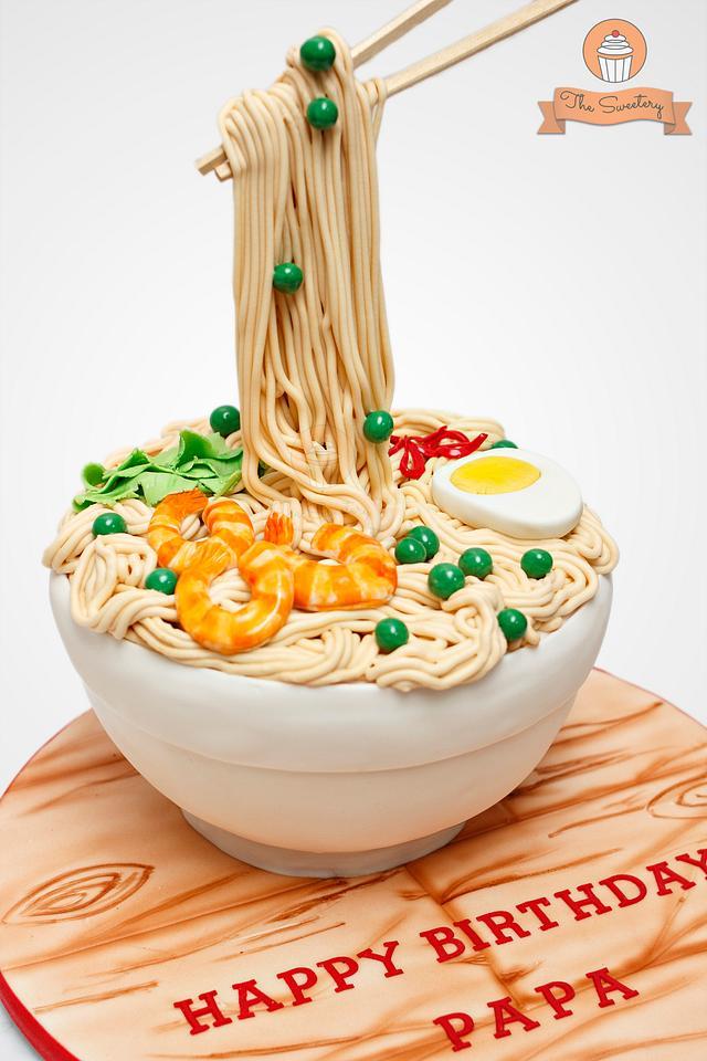 Noodles / Ramen Cake