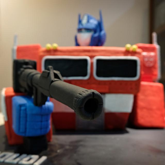 Optimus Prime 3D