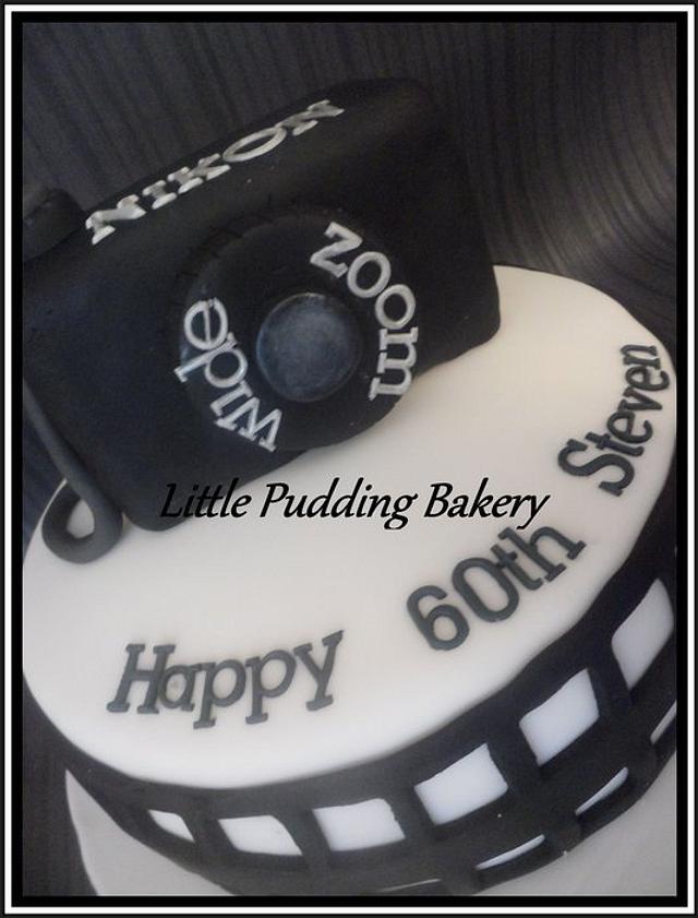 camera cake.