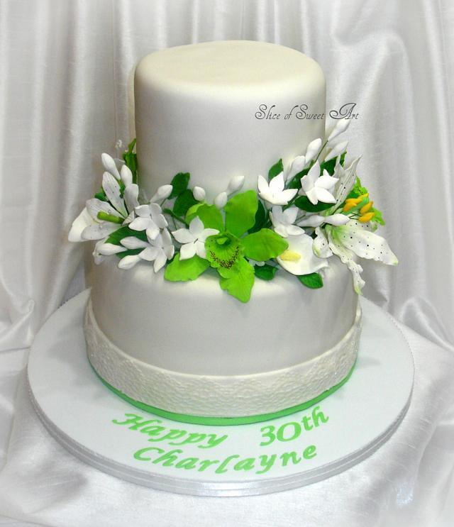 Charlayne's Floral Birthday