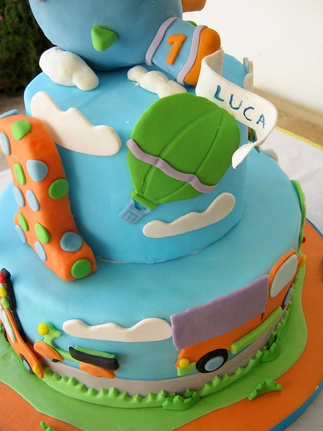 Vehicles Cake!