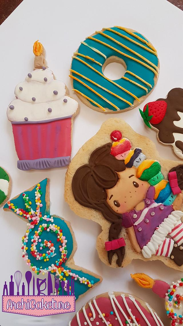 CANDY GIRL COOKIES
