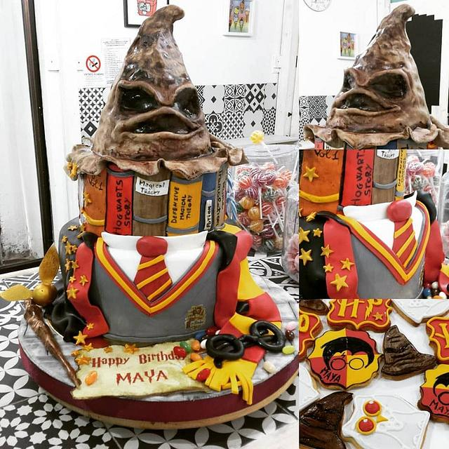 Cool Harry Potter Birthday Cake Cake By Yummy Cake Shop Cakesdecor Personalised Birthday Cards Paralily Jamesorg