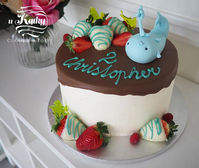 Chocolate cake for kids