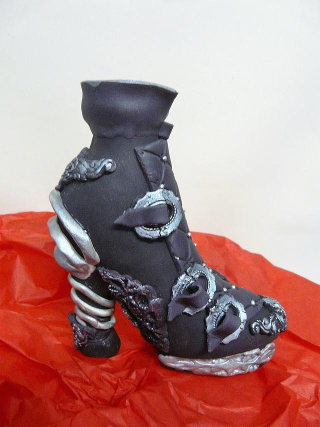 CPC Shoe Collaboration. My Steampunl Boot!