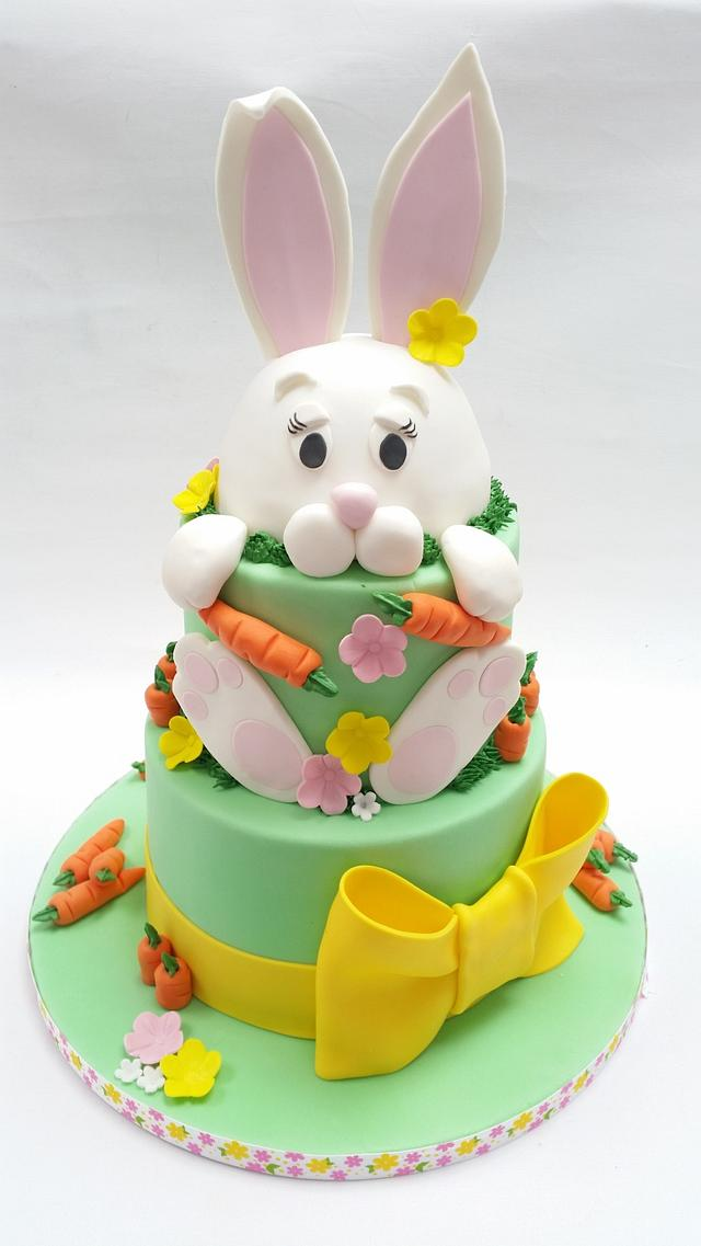Terrific Easter Birthday Cake Cake By Spices Cakesdecor Funny Birthday Cards Online Fluifree Goldxyz