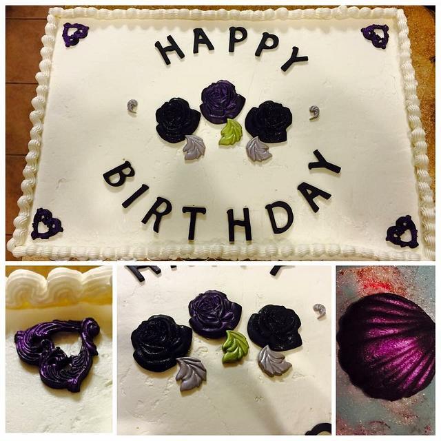 Sheet birthday cake