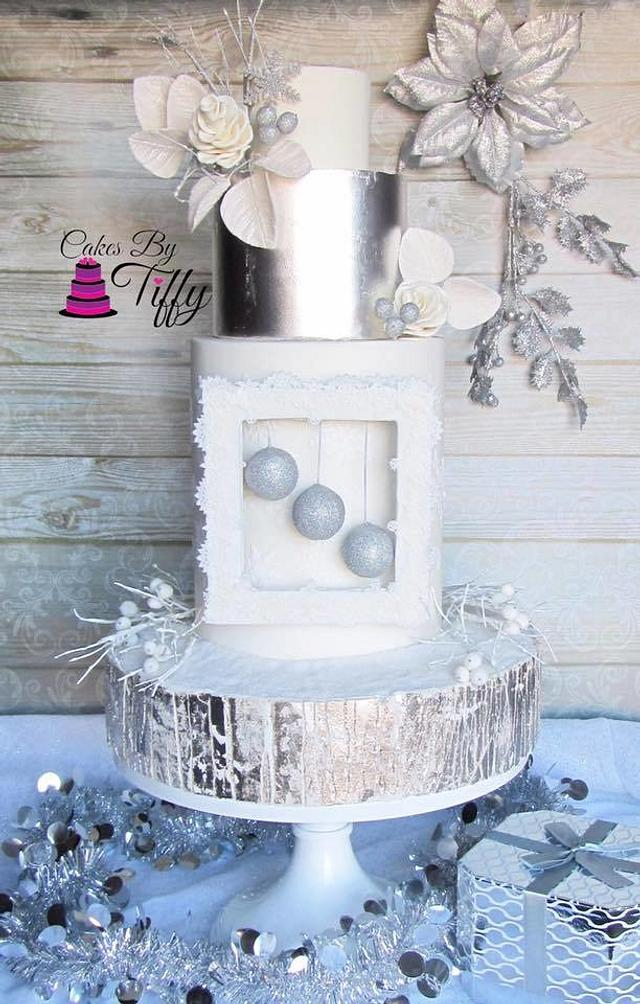 Cuties Little Christmas Collaboration: Silver and White Christmas