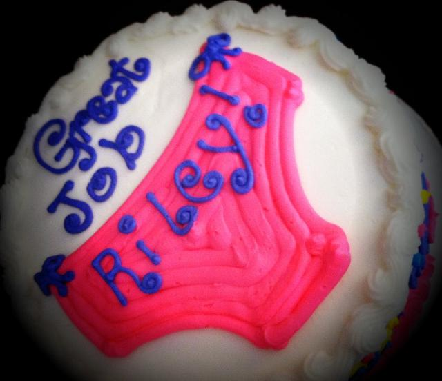 """Big Girl"" Panty Cake"