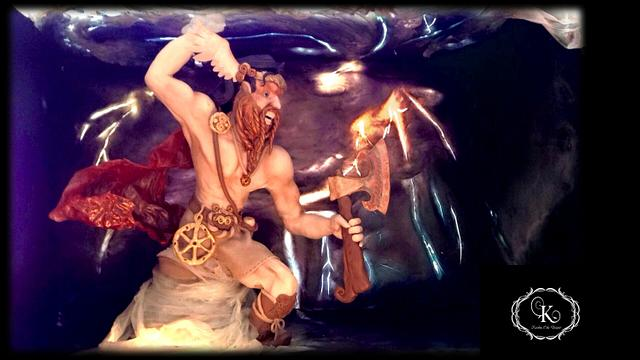 Perun. Slavic God of Thunder.
