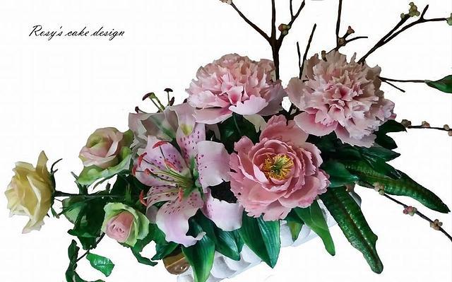 My Flowers arragements