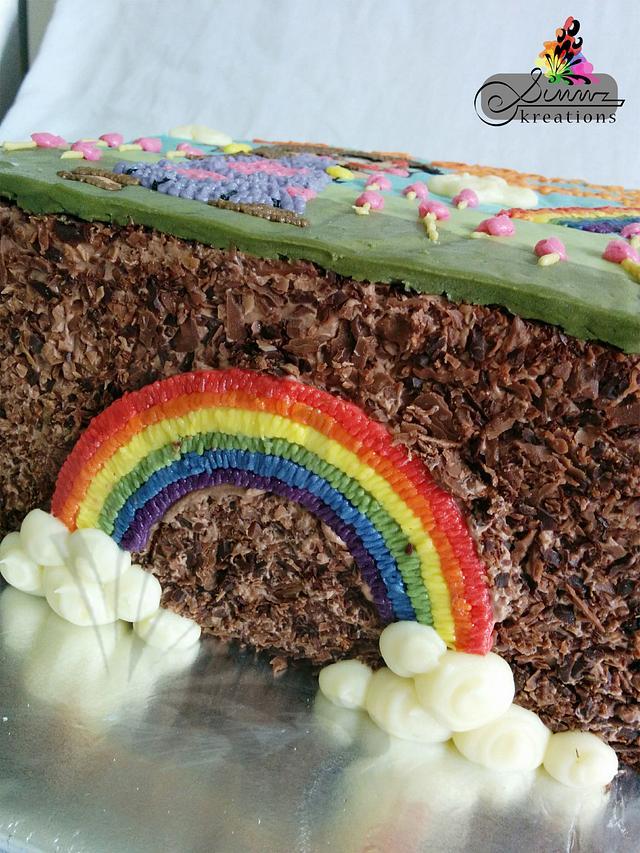 Buttercream Rainbow