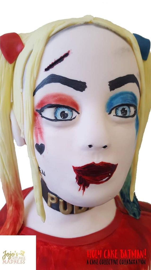 Harley Quinn Bust Cake - The Cake Collective