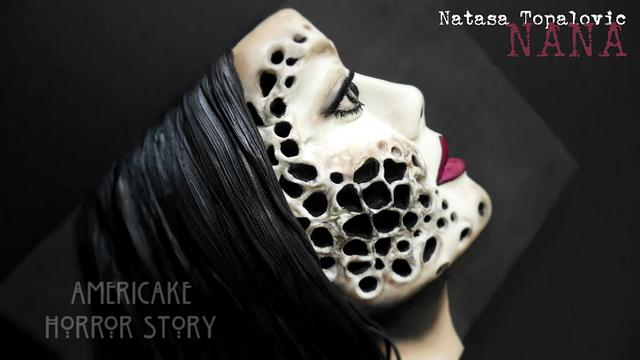 Americake Horror Story Collab/ trypophobia character