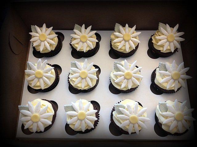 Daisy Cupcakes