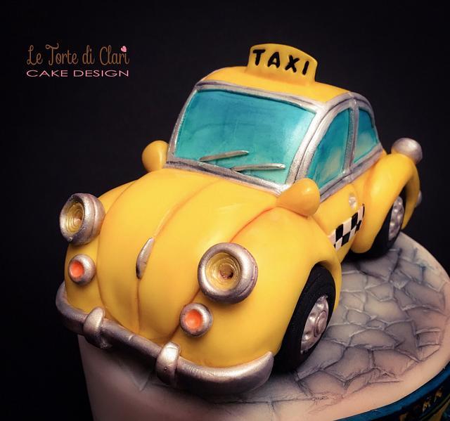 NY vintage taxi