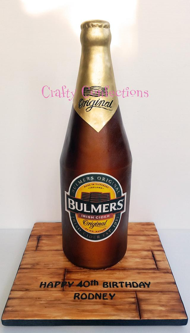 Bulmers Irish Cider cake