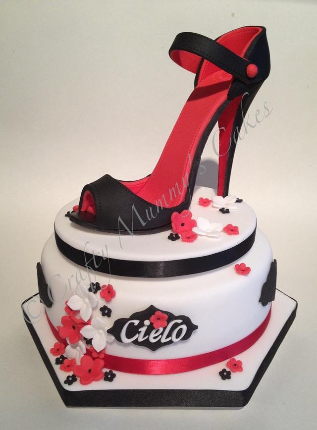 Stiletto Shoe Cake