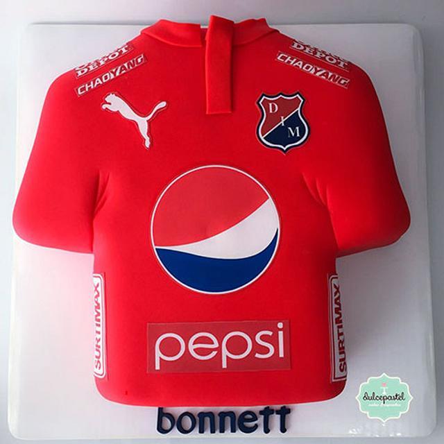 Torta Camisa del Medellín