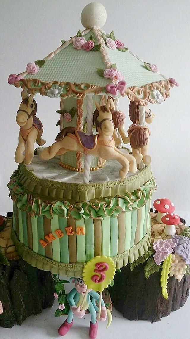 A cake for a very nice little girl!