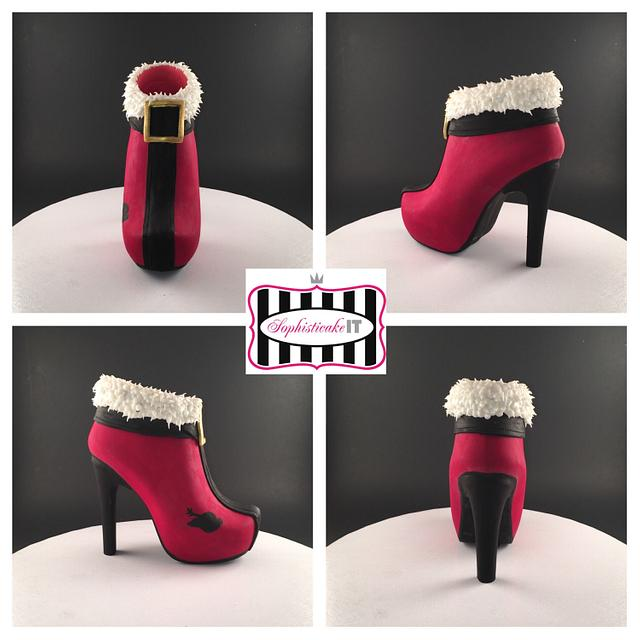 Mrs. Claus has a new boot!