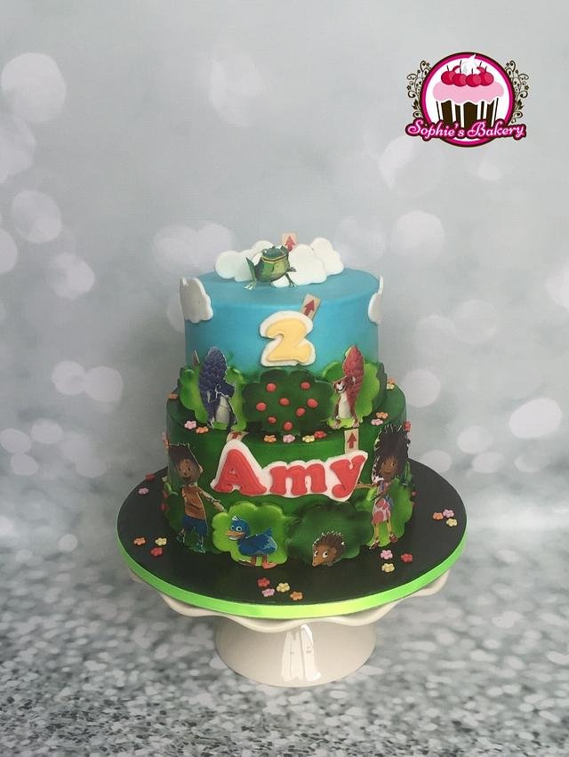 Zack & Quack cake
