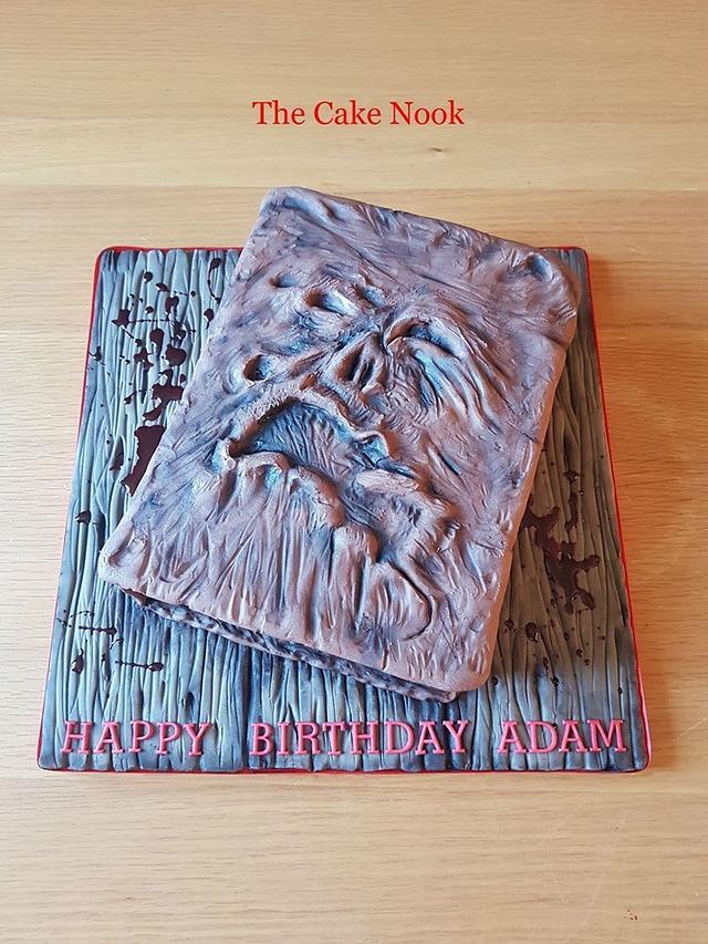 🧟♀️ Evil Dead, Necronomicon Book Cake. 🧟♀️