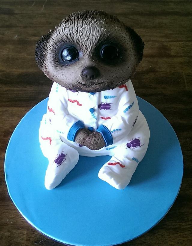 Baby Oleg Compare the Meerkat