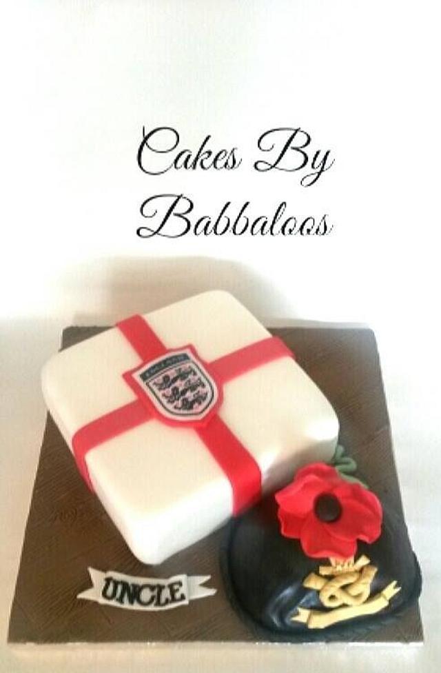 Proud to be british cake!