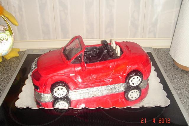 Car cake... Audi TT - cake!