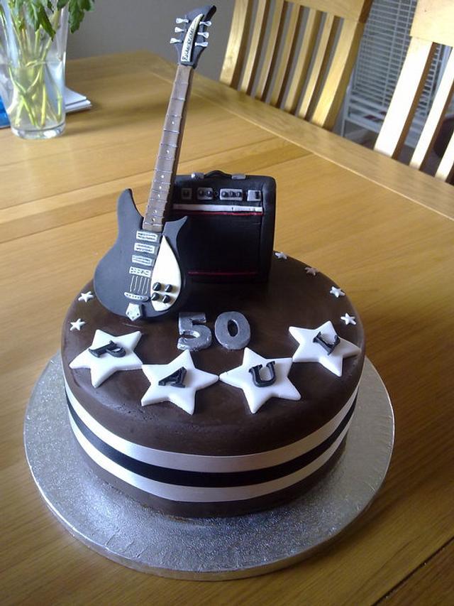Rickenbacker guitar & amp