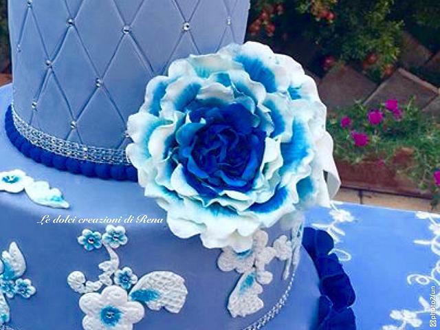 Princesse in blu