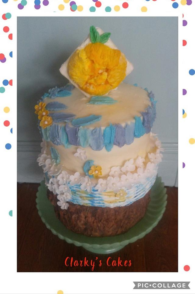Awesome Happy Birthday Chris Megan Cake By June Cakesdecor Funny Birthday Cards Online Eattedamsfinfo