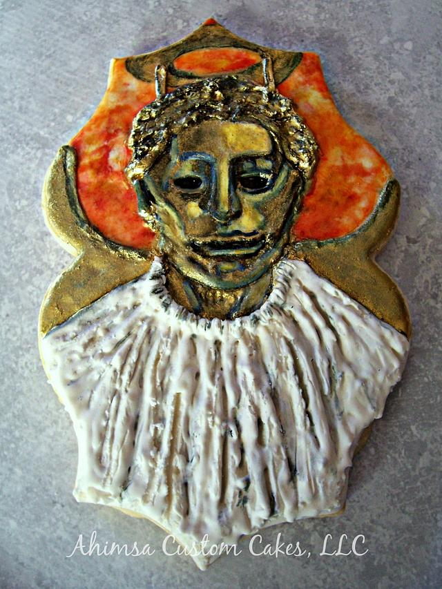 A Merry Whovian Christmas Collaboration ~ Heavenly Host cookie