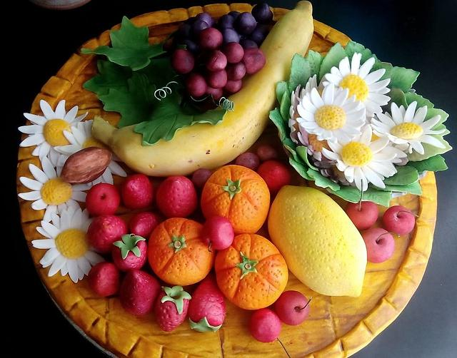 Fondant Fruit Tray