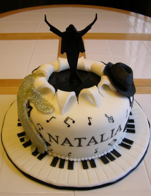 Awe Inspiring Michael Jackson Birthday Cake Cake By Craving Cake Cakesdecor Funny Birthday Cards Online Alyptdamsfinfo