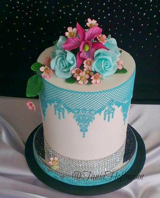 Pretty cake for Birthday Registry