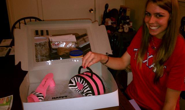 Amanda's 21st birthday cake