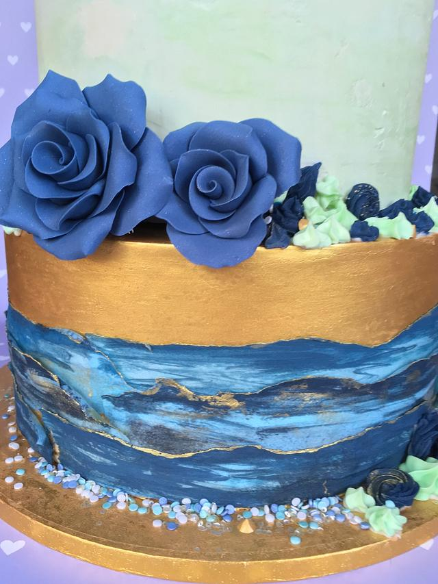 Alapaca Wedding Cake