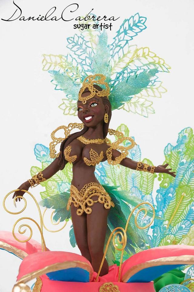 Sweet world Carnival Collaboration Rio de Janeiro sambista