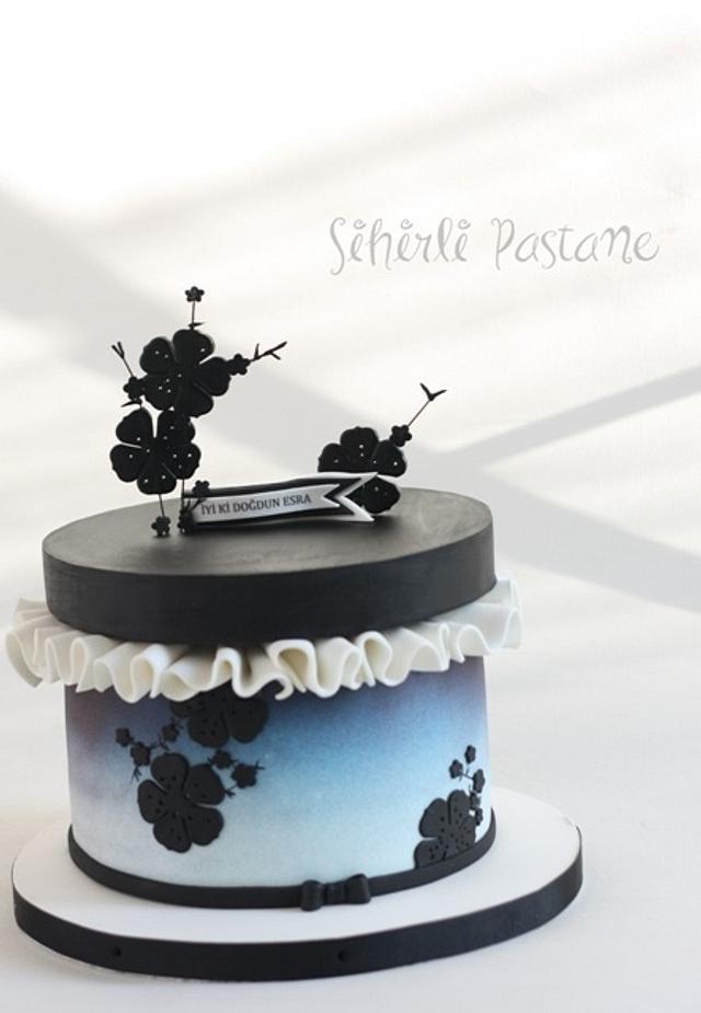 Armani Box Cake