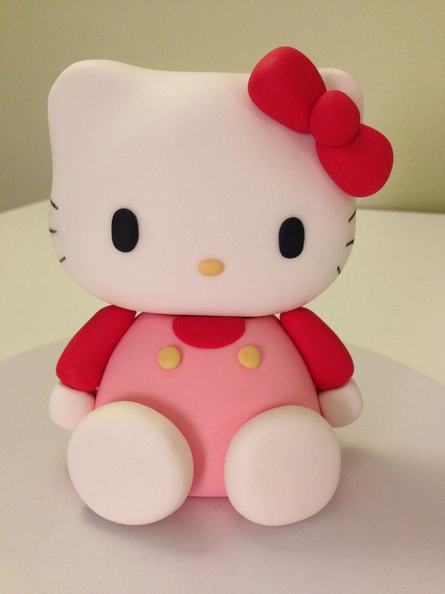 Hello kitty sugar topper