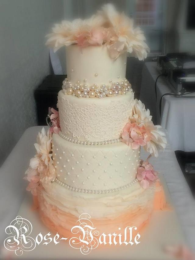 double cake side