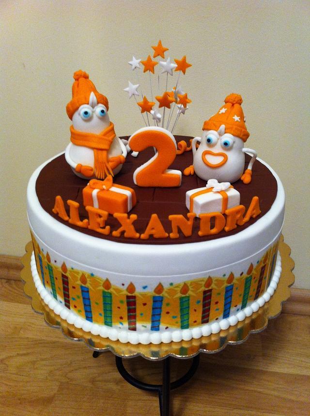 Funny cake for Alexandra :)