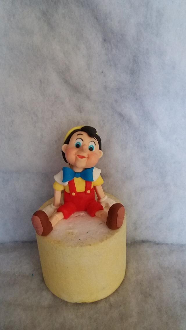 pinoccio cake topper