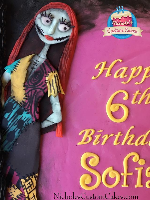Tim Burton Birthday Cake