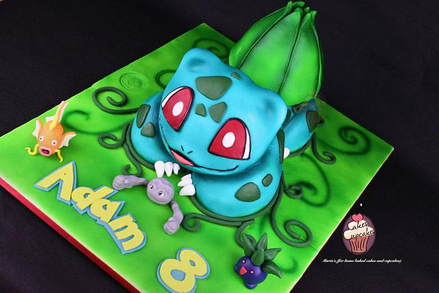Bulbasaur (Pokemon) cake