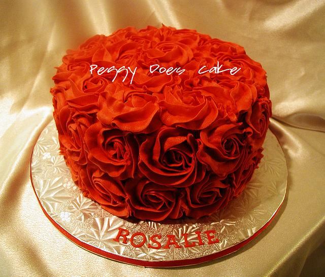 Red Roses Cake!